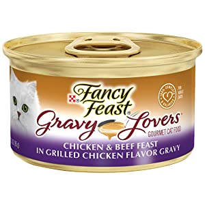 Purina Fancy Feast Gravy Lovers Adult Canned Wet Cat Food