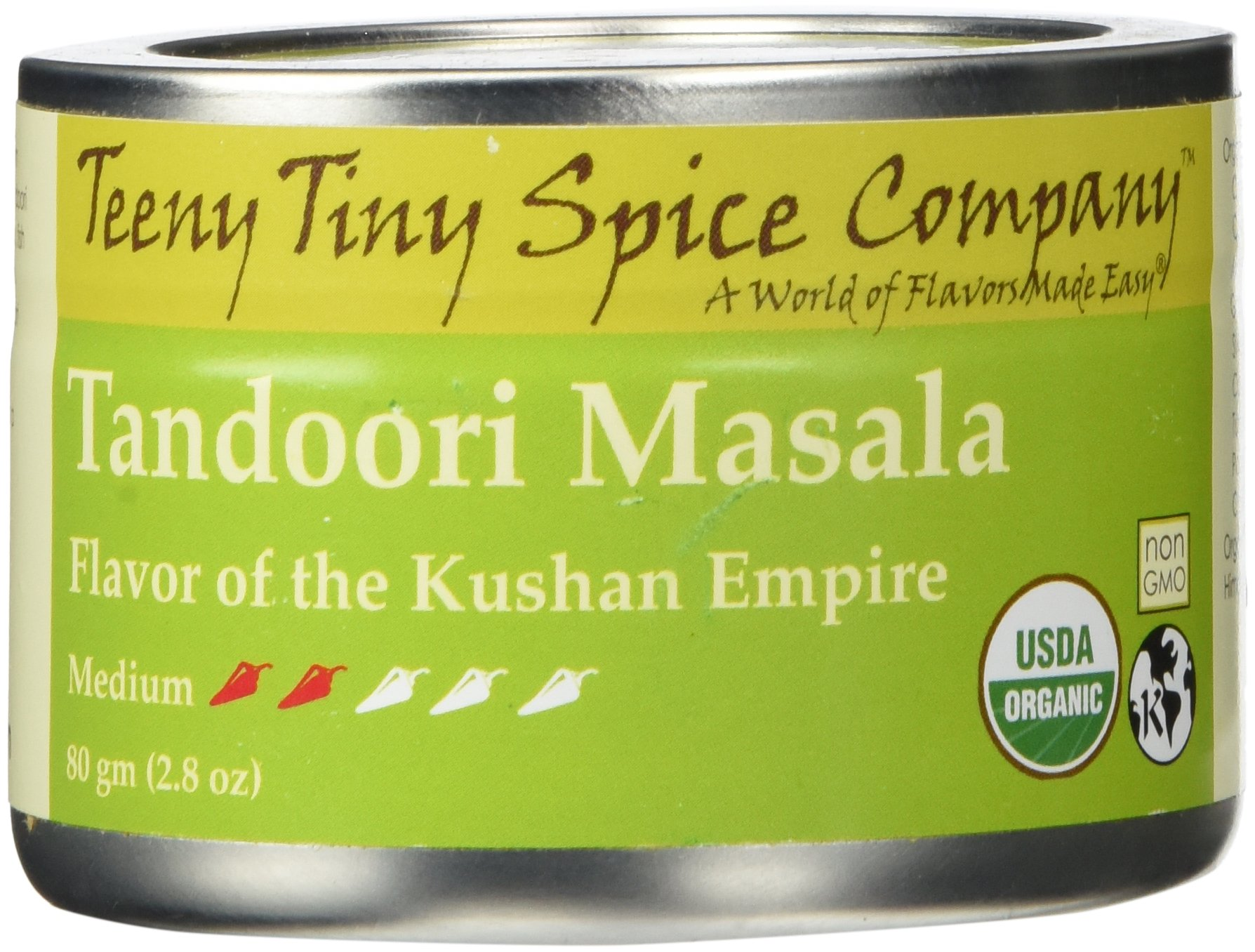 Teeny Tiny Spice Co. of Vermont Organic Tandoori Masala, 2.8 Oz