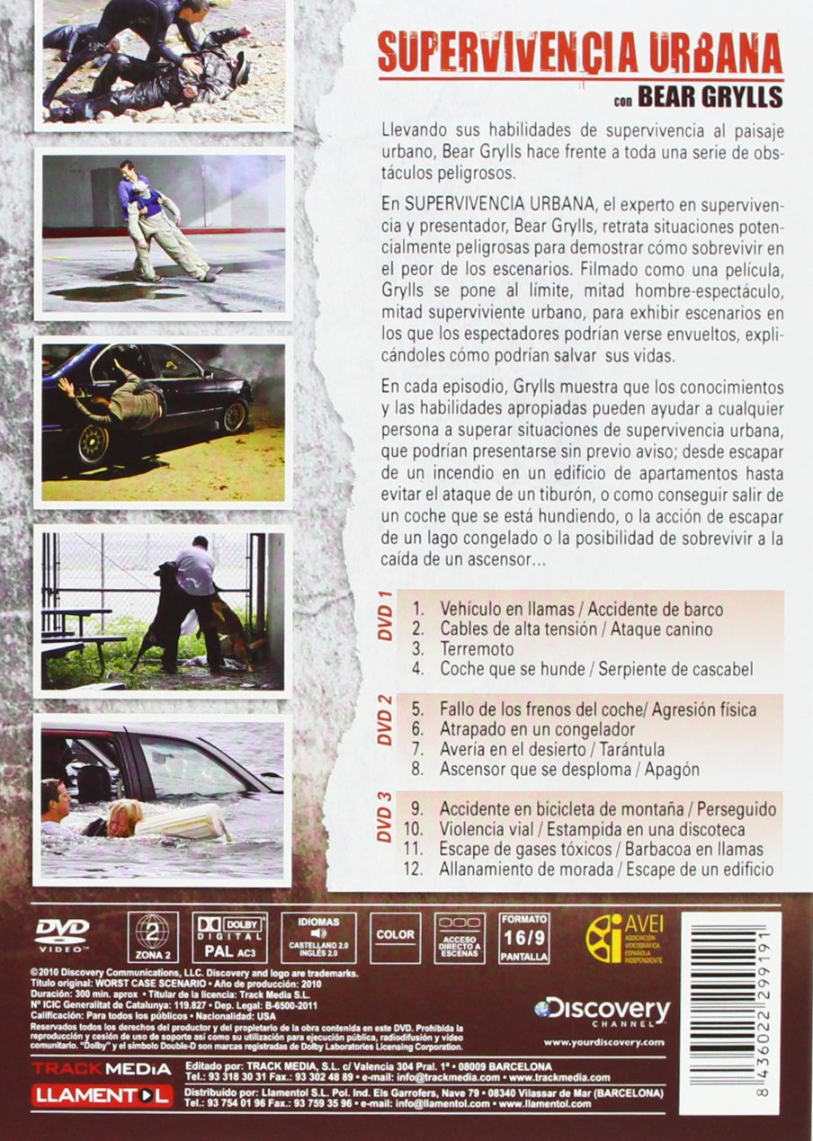 Discovery Channel: Supervivencia Urbana [DVD]: Amazon.es: Cine y ...