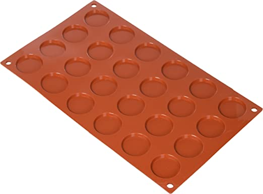 Terracota Molde de silicona Silikomart mini rectangular pasteles