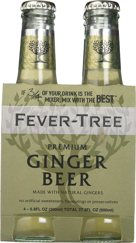Fever-tree Premium Ginger Beer (6x4 Pack): Amazon.es: Alimentación y bebidas