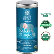 Baby Colic Babies' Magic Tea- N1 FDA Approved Baby Colic, Gas & Acid Reflux Relief-USDA Organic- MUST BE USED 3 TO 4 TIMES A DAY- 20 Sanitized T Bags- Up to 80 Servings