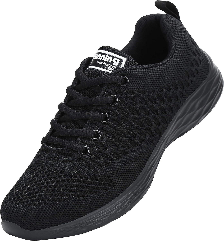 ALI&BOY Mujer Gimnasia Ligero Sneakers Zapatillas de Deportivos de Running para
