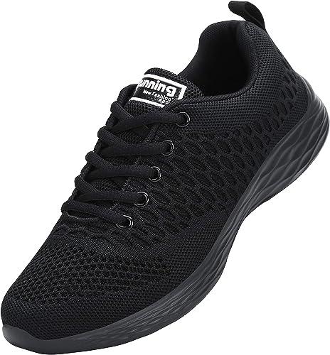 ALI&BOY Mujer Gimnasia Ligero Sneakers Zapatillas de Deportivos de ...