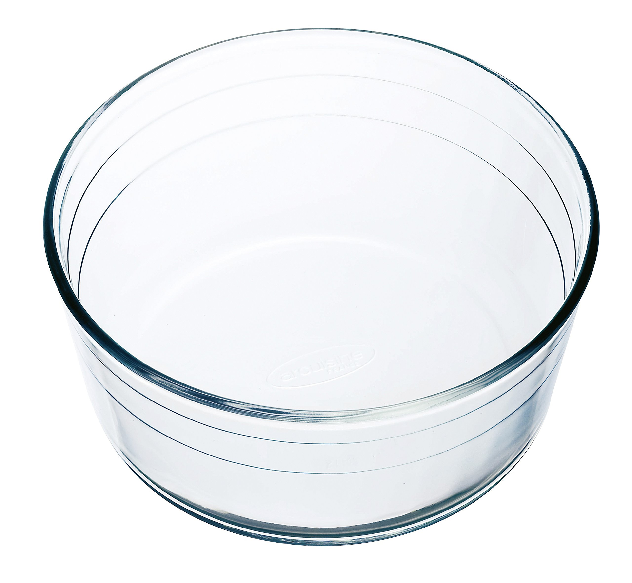 Arcuisine Borosilicate Glass Soufflé Dish 8.5 Inches (21 Centimeters) by International Cookware (Image #3)