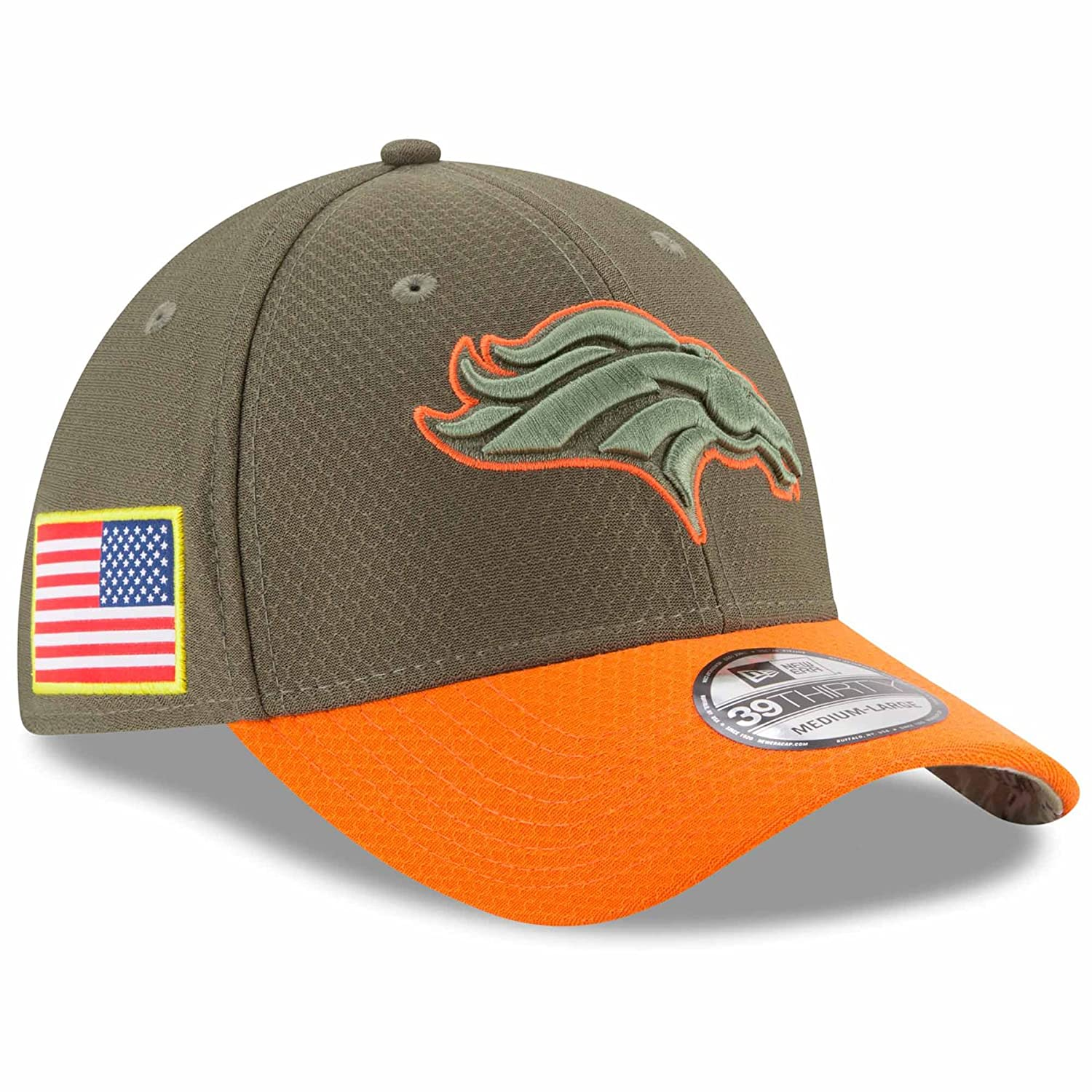 the best attitude a9003 f946f ... sweden denver broncos new era nfl 39thirty 2017 sideline salute to  service hat 8deaa b298b
