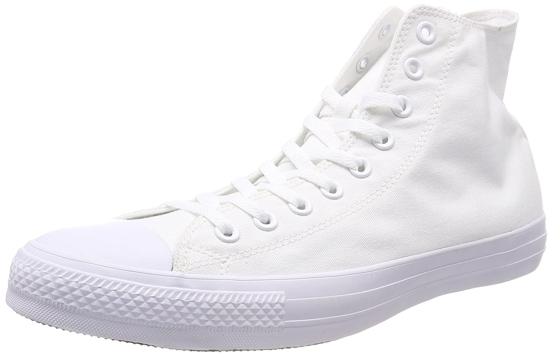 Converse Women's Chuck Taylor All Star 2018 Seasonal High Top Sneaker B000OLXDG8 8.5 M US|White Monochrome
