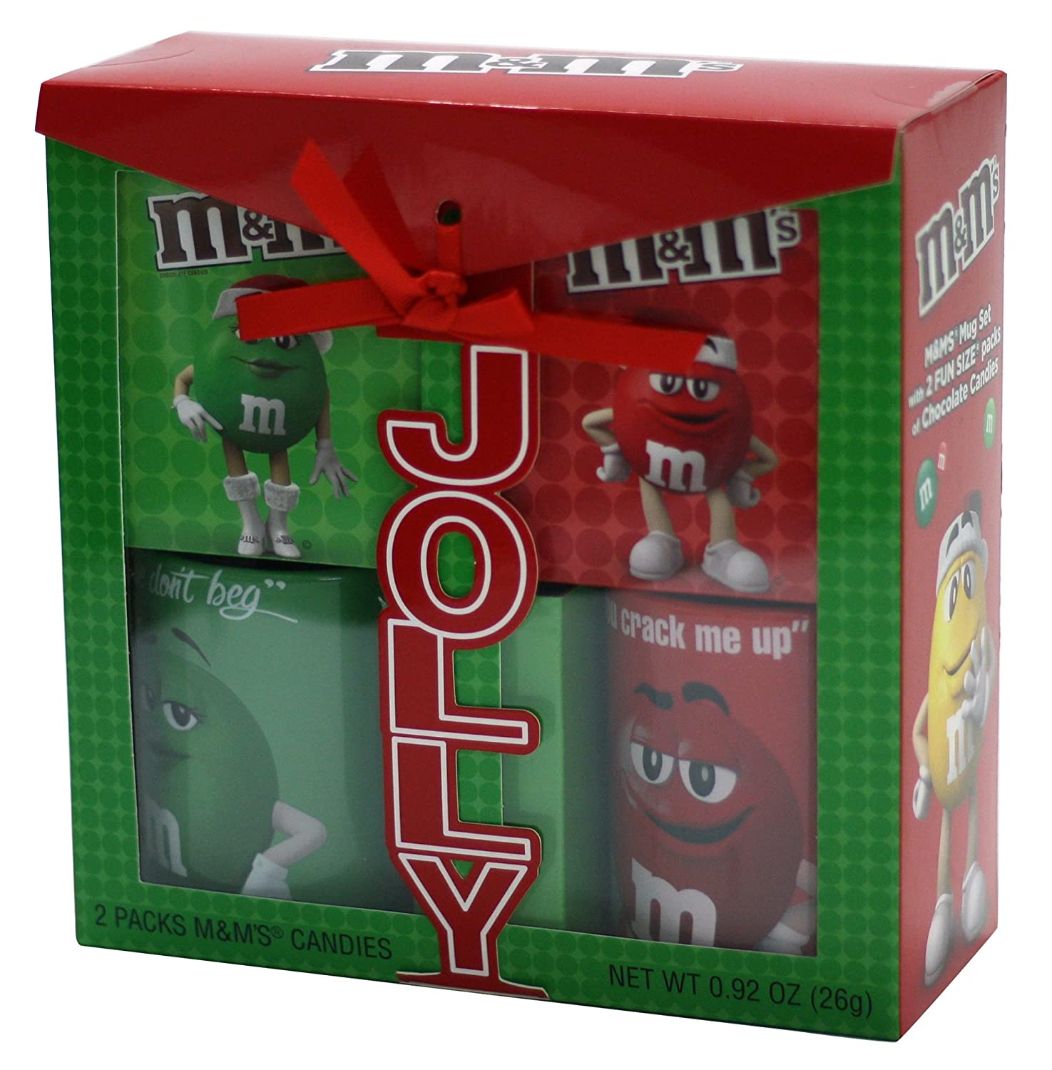 Amazon.com : Frankford Candy Company M&M's 2 Pack Mug Gift Set, 32 Ounce : Grocery & Gourmet Food