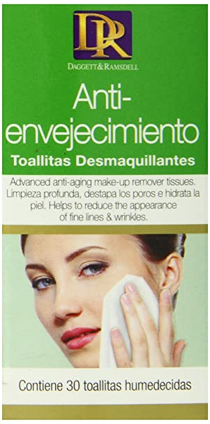 Amazon.com: Daggett & Ramsdell Age Defying Cleansing Tissues, 30 ...