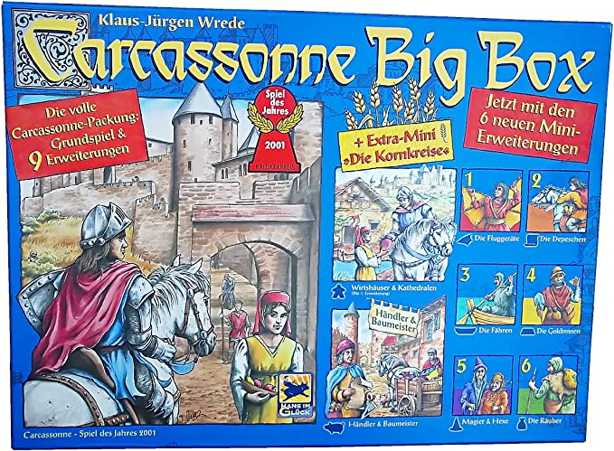 Carcassonne Big Box: Amazon.es: Juguetes y juegos