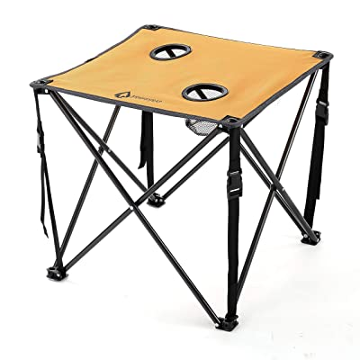 ARROWHEAD OUTDOOR Heavy-Duty Portable Folding Table: Sports & Outdoors