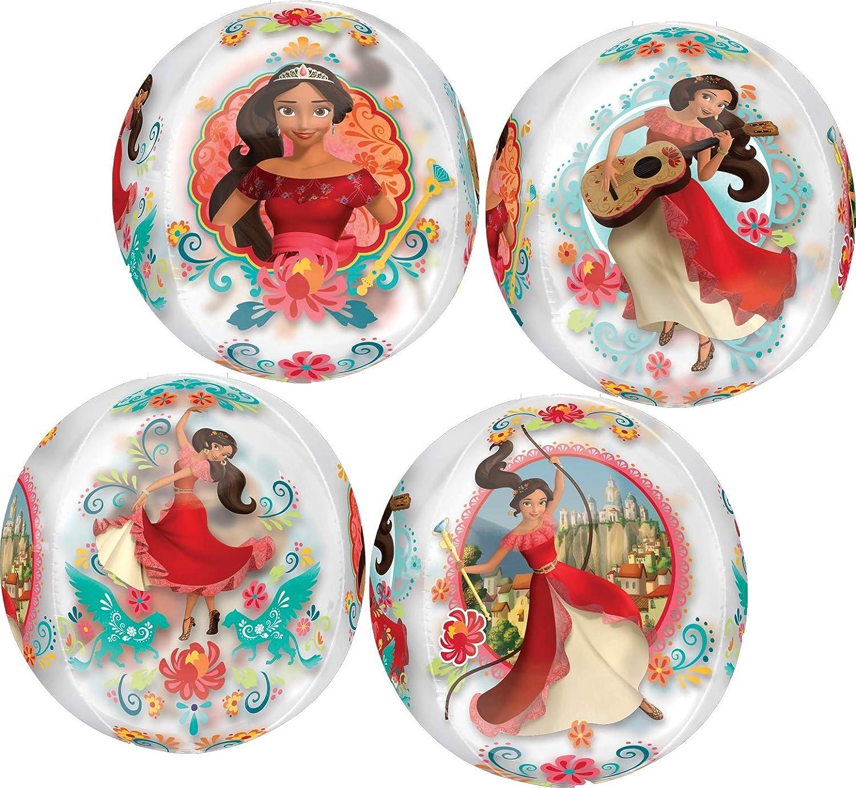 Princess Elena Party Supplies 5th Birthday Orbz Balloon Bouquet Decorations