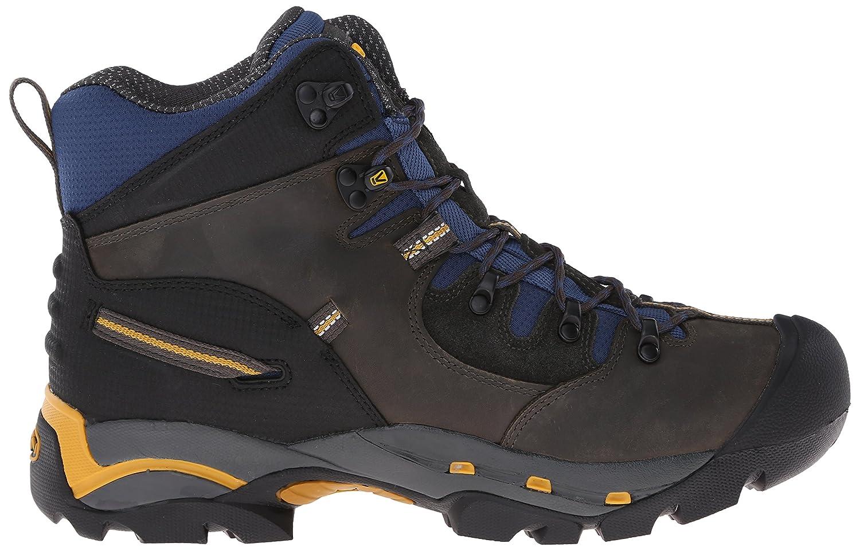 Keen Utility Pittsburgh - Bota de Trabajo Para Hombre (Acero), (Raven/Yellow), 15 EE - Wide: Amazon.es: Zapatos y complementos