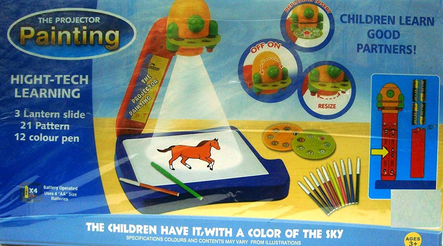 buy the projector painting game toy set for kids online at low