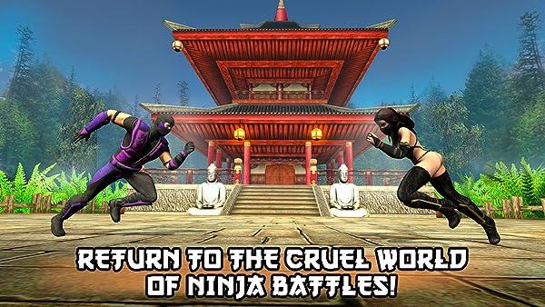 Ninja Kung Fu Fighting 3D - 2: War of Clans:Amazon:Appstore