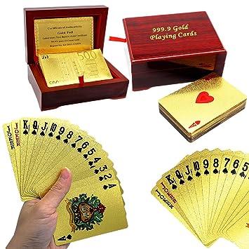 freefa gold-foil chapado en Juego de cartas juegos de mesa ...