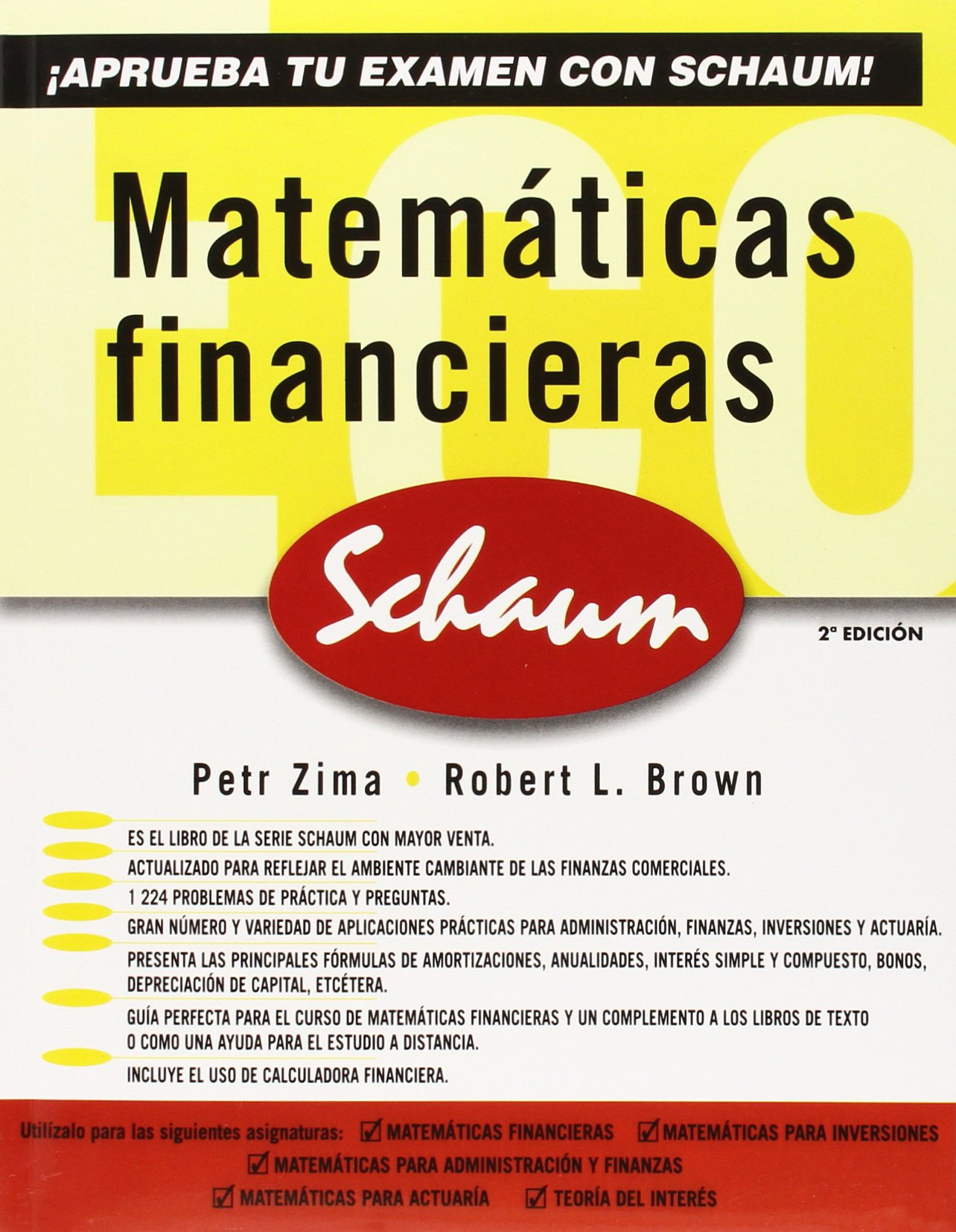 Matematicas Financieras (Spanish Edition) by McGraw-Hill Interamericana