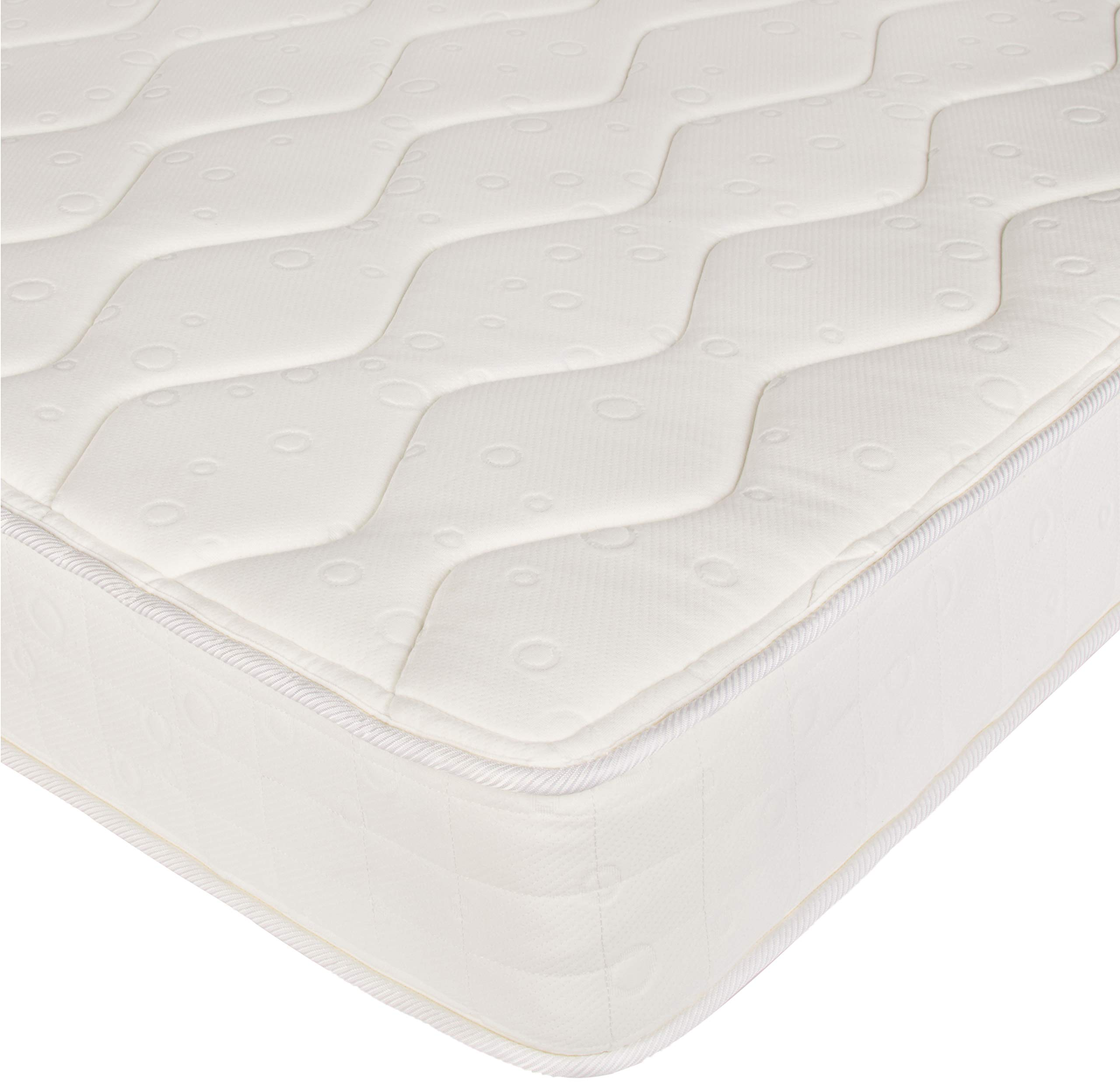 AmazonBasics Coil Mattress in a Box - Features Individual Pocket Spring for Motion Isolation, High-Density CertiPUR-US Certified Foam Layer - 8-Inch, Queen by AmazonBasics (Image #4)