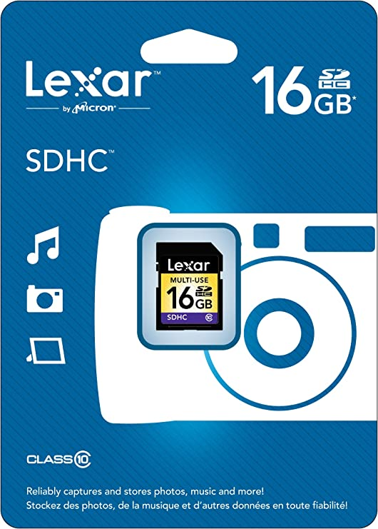 Amazon.com: Lexar tarjeta de memoria flash SDHC multiusos ...