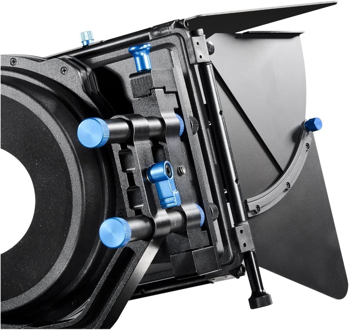 and Pentax DSLR cameras and Camcorders Morros Pro Matte Box Shading Card Lens Hood M2 for Canon Sony Olympus Nikon Panasonic