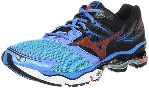 Mizuno Wave Creation 14 - Zapatillas de Running de sintético para Mujer Red/Black/Yellow: Amazon.es: Zapatos y complementos