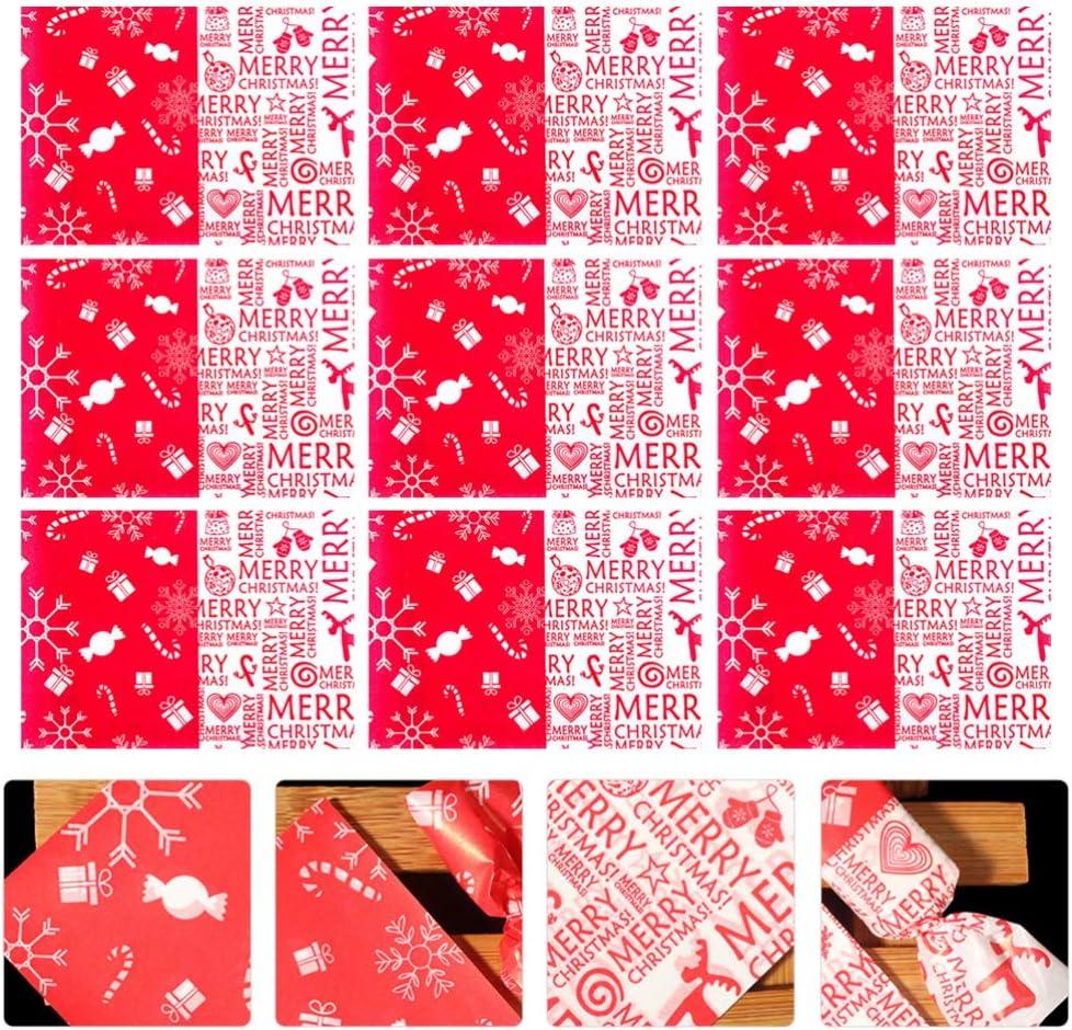 Patisserie Aboofan 1000pcs Emballages De Nougat De Noel Tordant La Cire De Papier Caramel Bonbons Sucette Cuisson Nougat Papier Demballage Pour Anniversaire De Mariage Fait Maison Emballage De Cuisine Et Maison Mansaocatavento Com Br