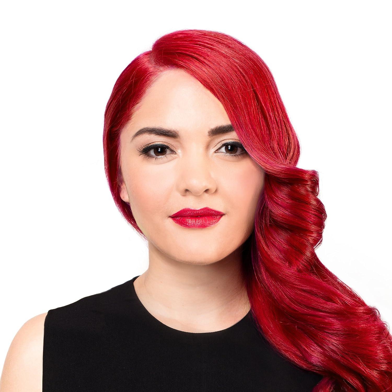 Amazon Sparks Long Lasting Bright Hair Color Red Velvet 3