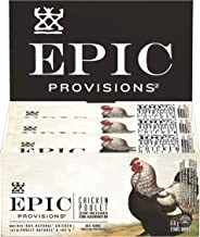EPIC Provisions Chicken Sesame + BBQ Seasoned Bar, 12-Count,  516 Gram