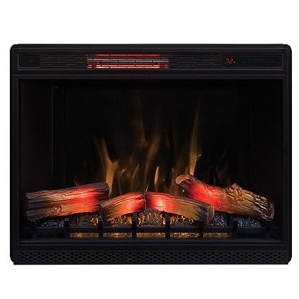 amazon com classic flame 33 3d infrared quartz electric fireplace rh amazon com classic flame infrared electric fireplace insert classic flame infrared electric fireplace insert