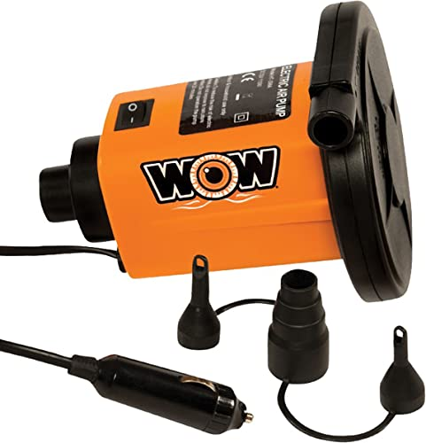 12v DC Air Pump to Blow Up Inflatables (Boat, Kayak, SUP, Dinghy) [WOW Sport] Picture
