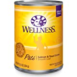 Wellness Complete Health Natural Grain Free Wet Canned Cat Food Pate Recipe Salmon & Trout Pate