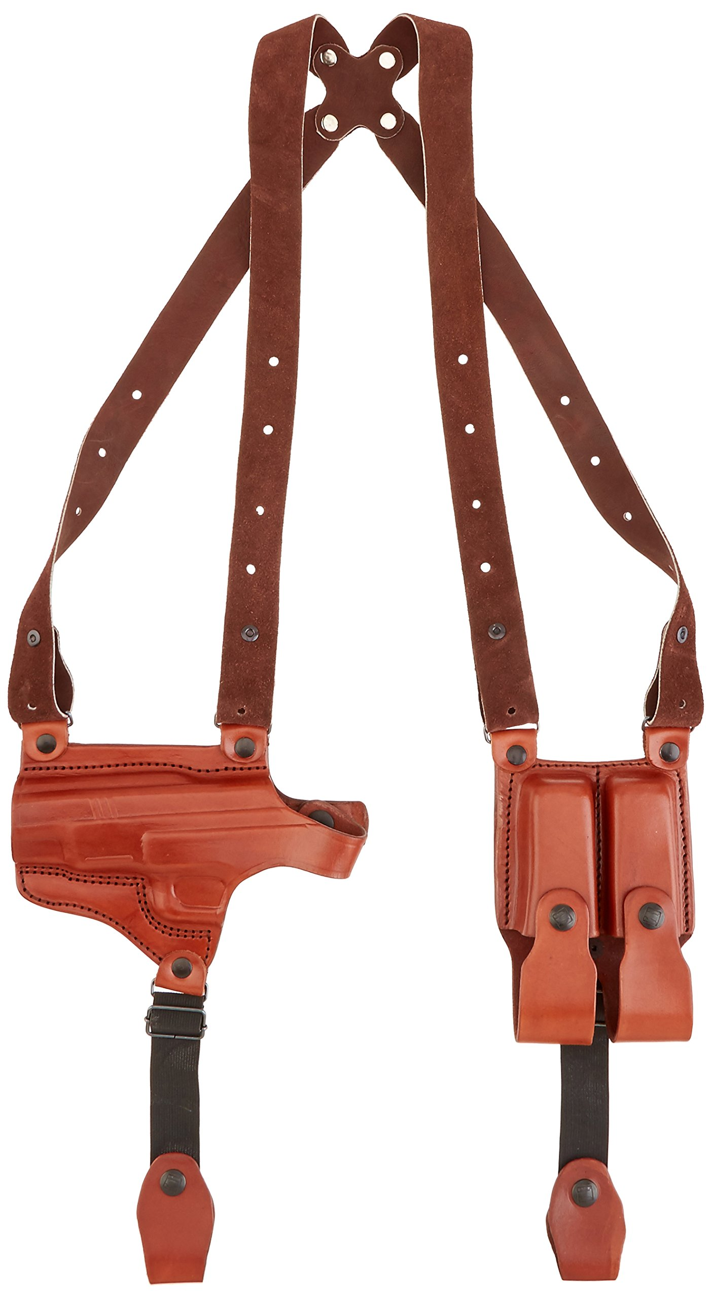 Tagua SH4-653 Full Slide Shoulder Holster, Springfield XD 40 Tactical, Brown, Left Hand
