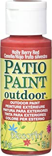 product image for DecoArt Patio Paint, 2-Ounce, Holly Berry Red