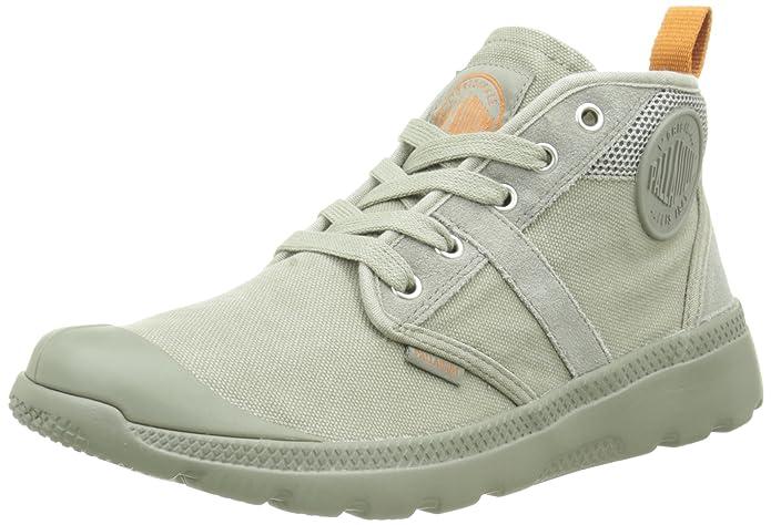 Palladium Palavil Hi cm M, Sneaker a Collo Alto Uomo, Verde (Concrete/Wind Chime), 46 EU
