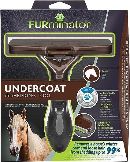 FURminator® Undercoat deShedding Tool para caballos: Amazon.es ...