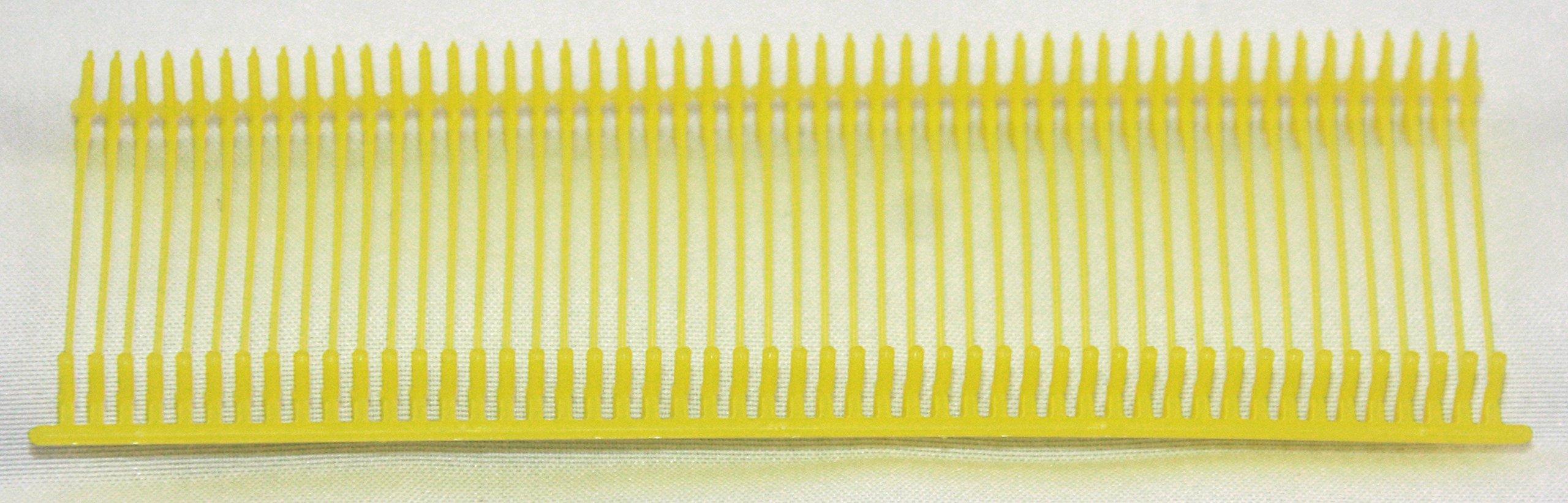 Amram Standard Tagging Attachments 1'', 50/Clip, 5,000/box, Yellow