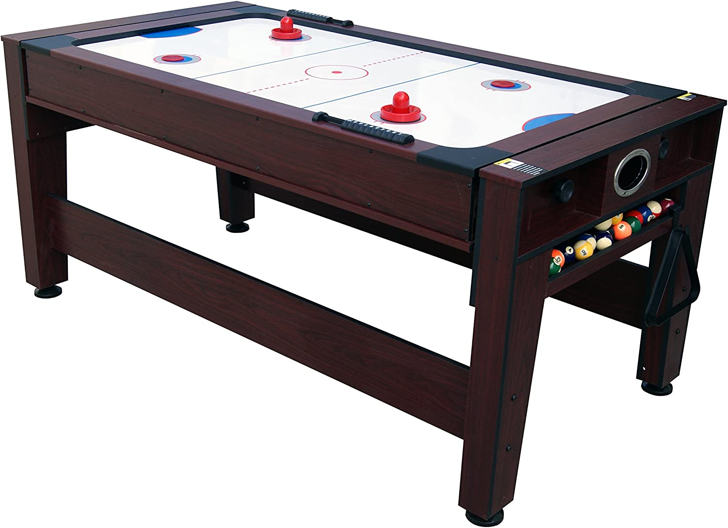 Solex 2-in-1 Cable Giratorio Billar y Mesa de Air Hockey: Amazon ...