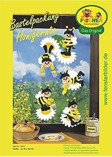 25x60 cm//Mobile//zum Selberbasteln//Basteln mit Papier und Pappe Fischer Fensterbilder Schmetterlings-Mobile//Bastelpackung//Gr/ö/ße ca