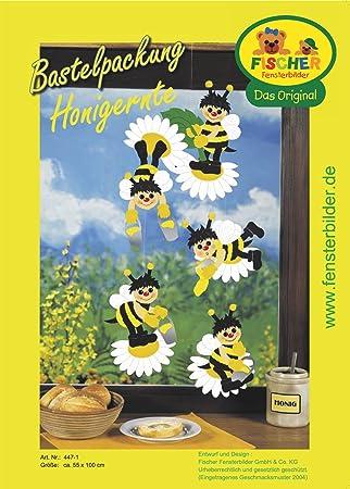 Fischer Fensterbilder Honigerntebastelpackunggröße Ca