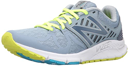 New Balance Mujer Vazee Rush Running Shoe, Grey/Blue, 41 EU: Amazon.es: Zapatos y complementos