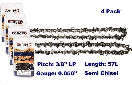 """16/"""" Chainsaw Chain For Echo CS303T CS305 CS306 CS310 CS315 CS330EVL CS330MX4"""