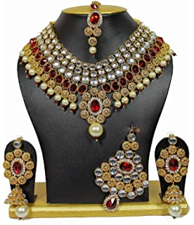 Jewelry & Watches Indianitraditional Manng Tikka With Crystal & Pearl Stone For Women And Girls Discounts Price Fashion Jewelry