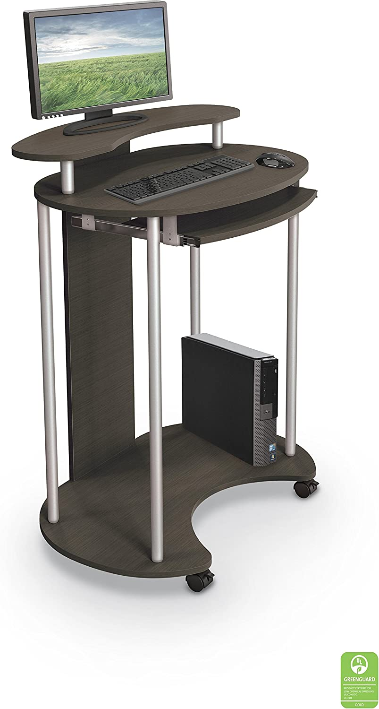 Balt 91105 Up-rite Standing Mobile Workstation Teak