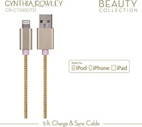 Cynthia Rowley Lightning Cable for Apple - Pink