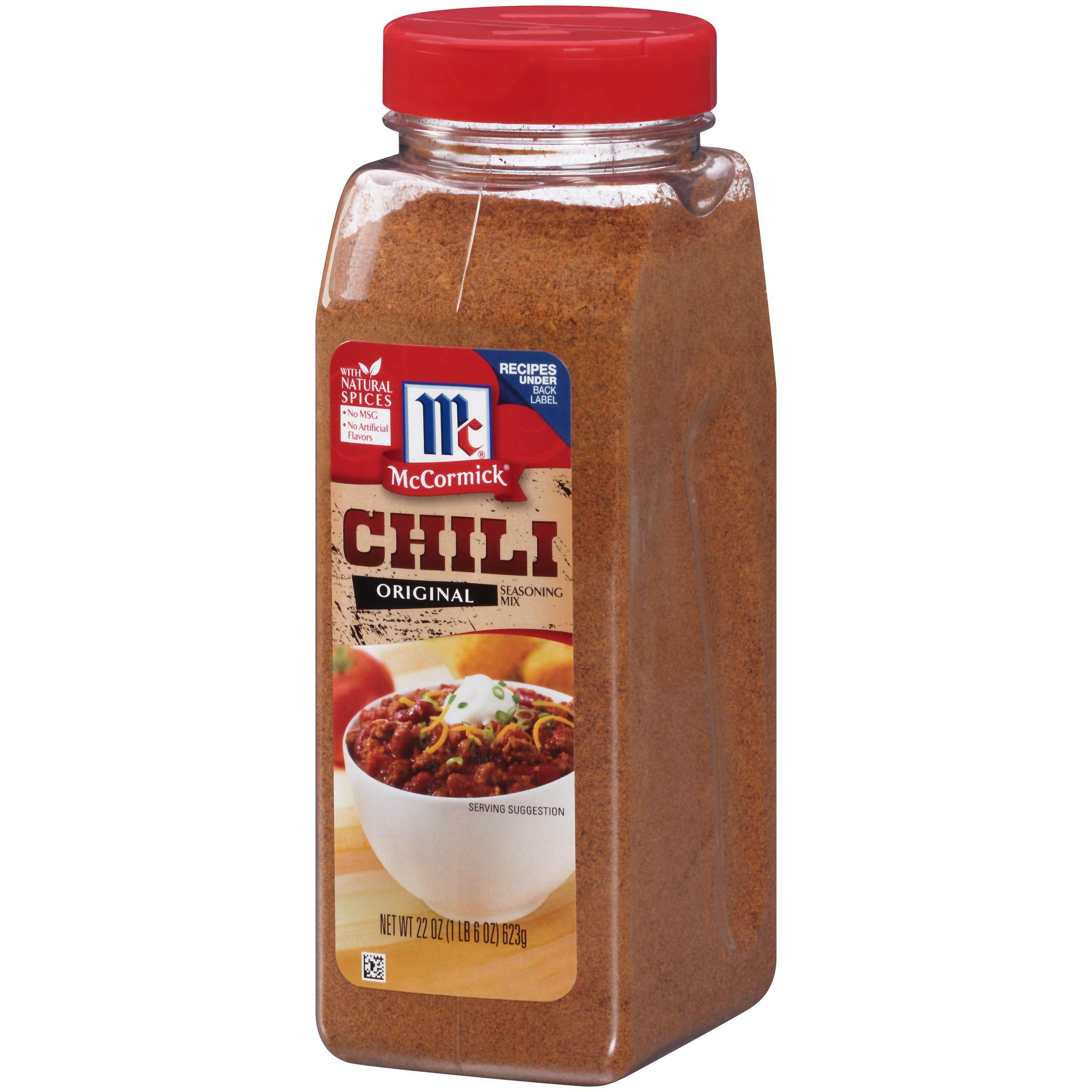 McCormick Original Chili Seasoning Mix, 22 oz