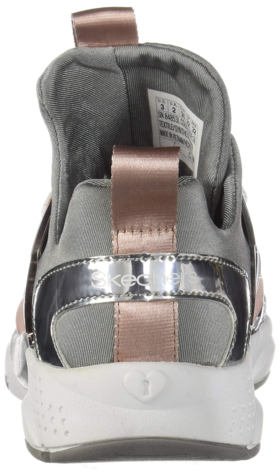 Skechers Shine Satus Jr Silber