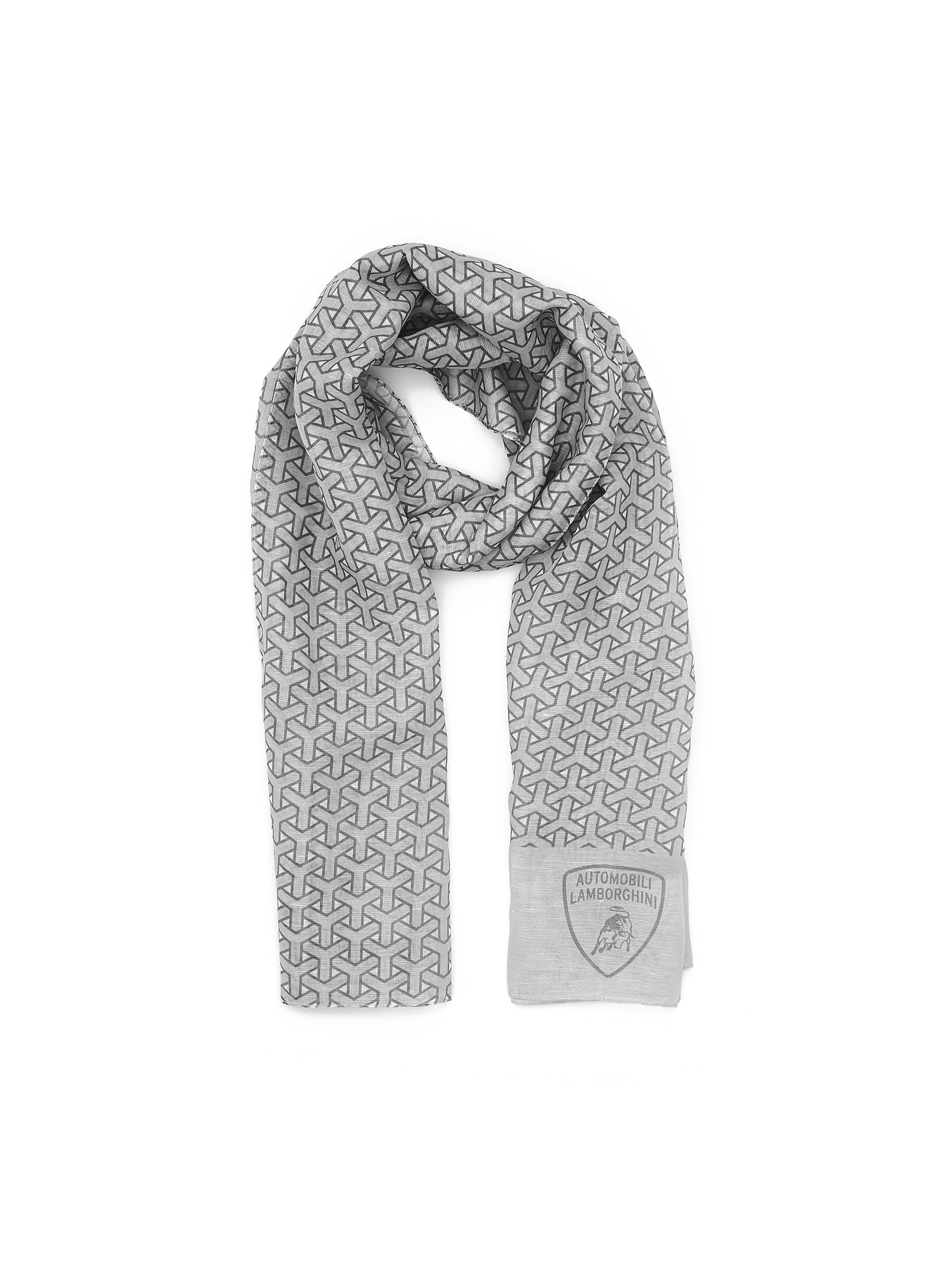 Automobili Lamborghini Accessories Y Scarf One Size Grey