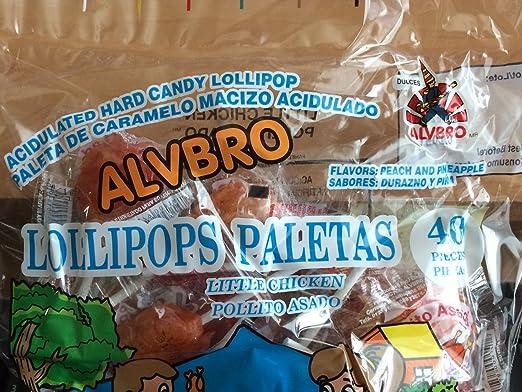 Amazon.com : Alvbro Pollito Asado Mexican Candy (Little ...
