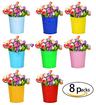 Hanging Flower Pots For Balcony Garden Plant Planter Home Decor Hanging  Plant Portable Flower Pot 8