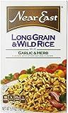 Near East Long Grain & Wild Rice Mix, Garlic & Herb, 5.9oz Box